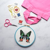 Image of Sunset Moth Complete Xstitch Package