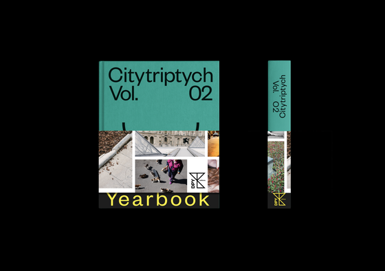 Image of DPY CIty Triptych Yearbook VOL.2 - PRE ORDER -