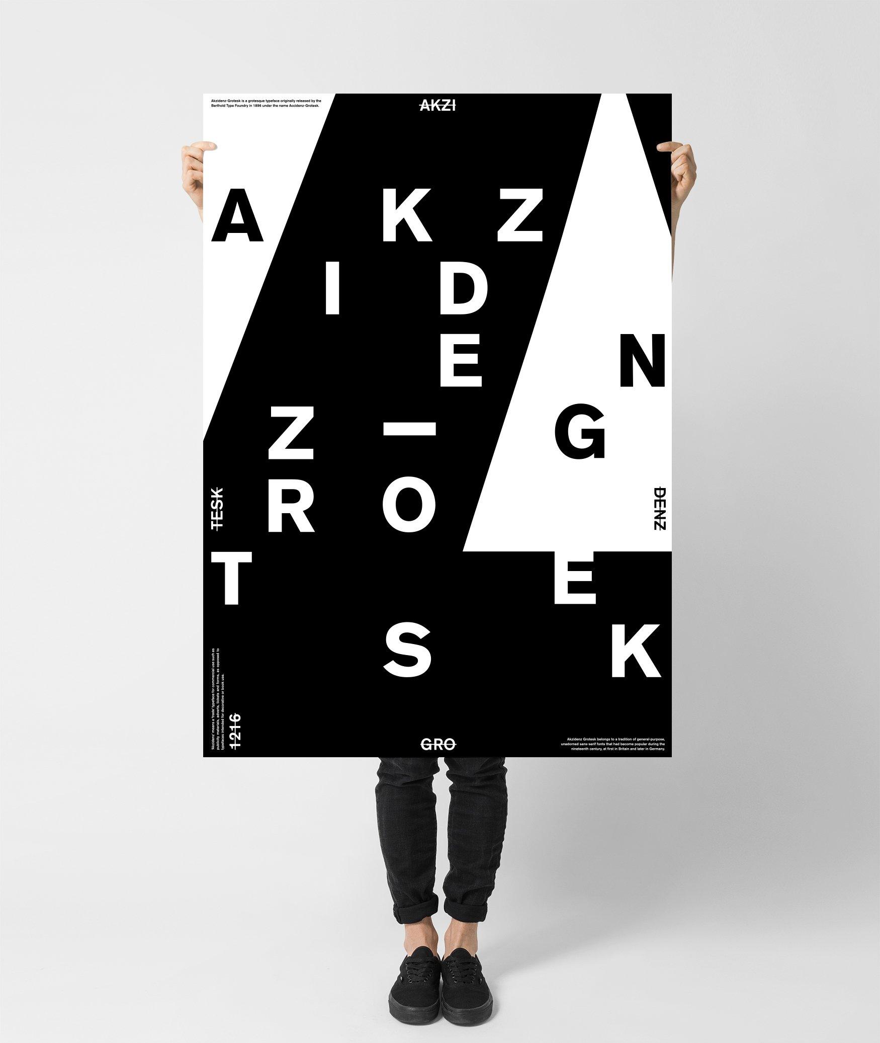 Image of ● AkzGrotesk