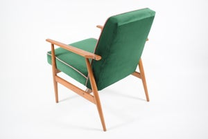 Image of Fauteuil FOX vert bouteille