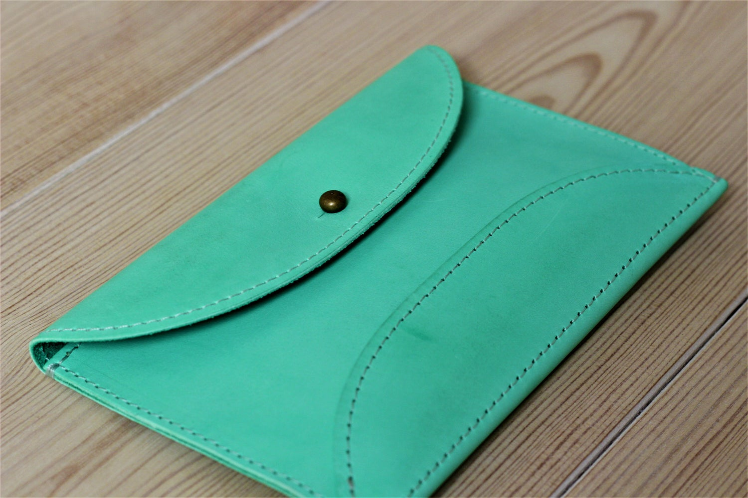 Image of Wallet (papaya/ mint)