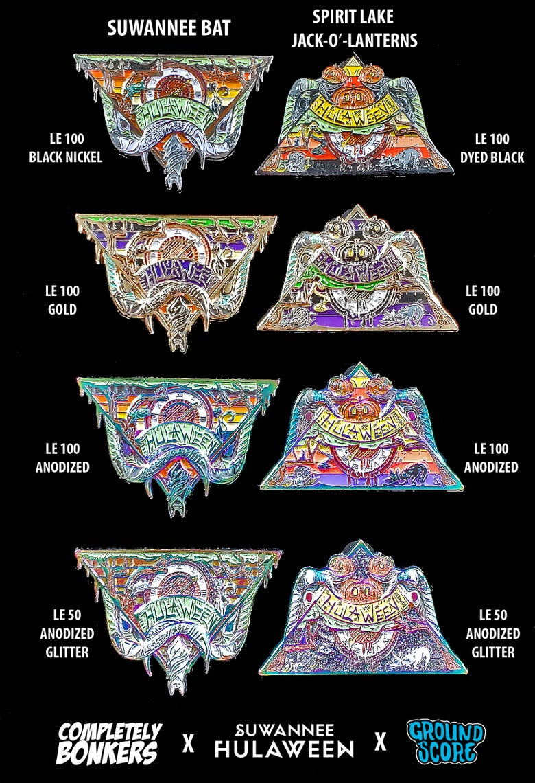 Image of Official Suwannee Hulaween 2018 Pins