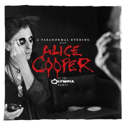 Image of ALICE COOPER - A Paranormal Evening With Alice Cooper At The Olympia Paris - 2CD