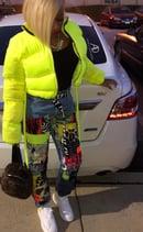 Image 2 of SLime Kay Puffy Jacket