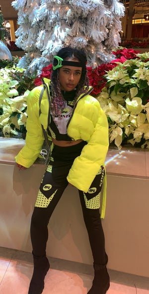 Image of SLime Kay Puffy Jacket