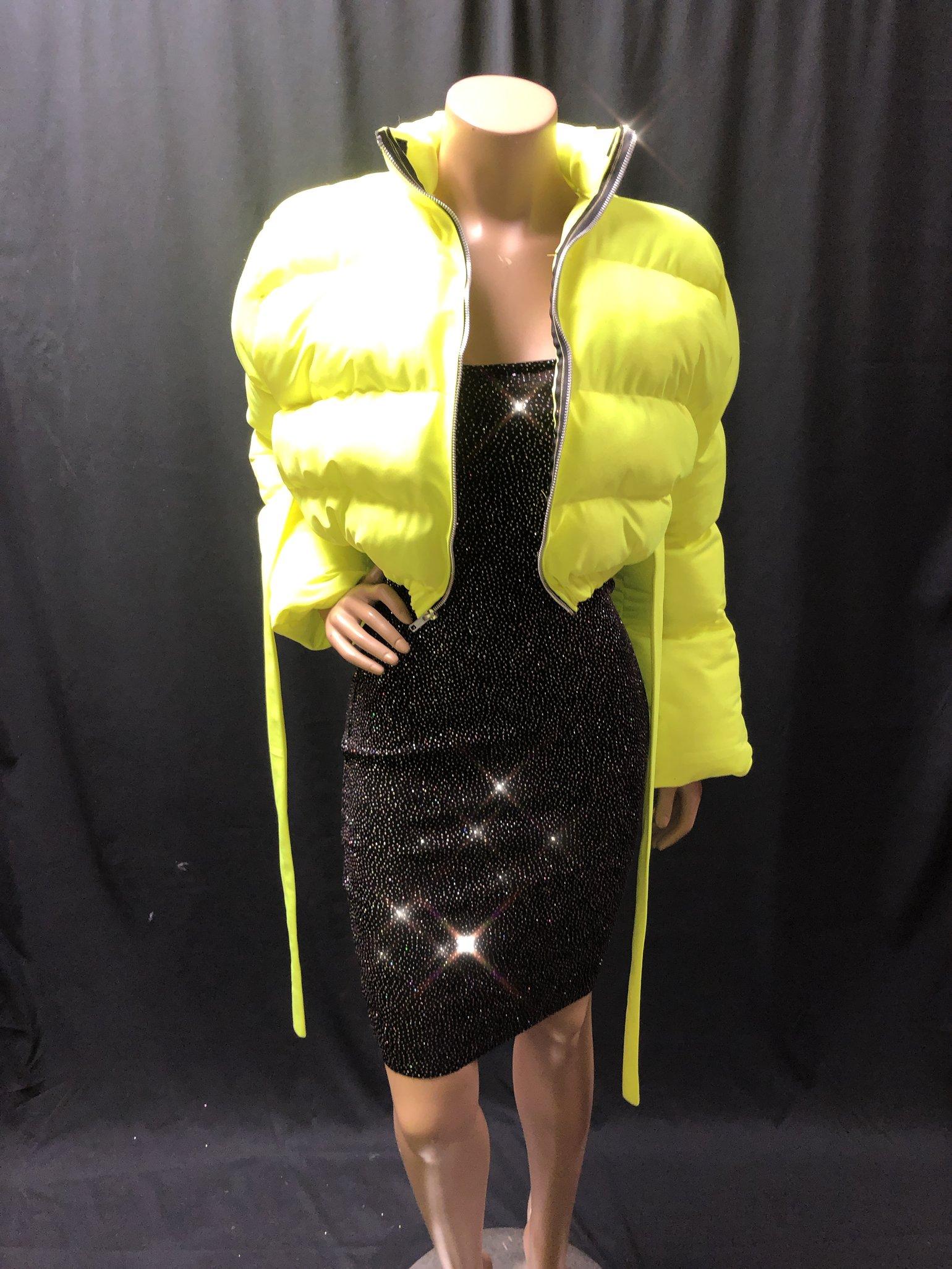 Image of SLime Kay Puffy Jacket
