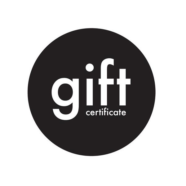 Image of The Gift Certificate