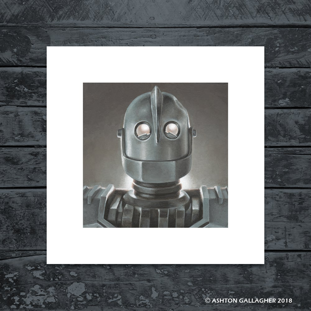 Image of IRON GIANT MINI PRINT