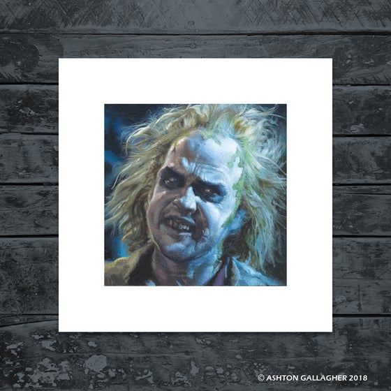 Image of BEETLEJUICE MINI PRINT