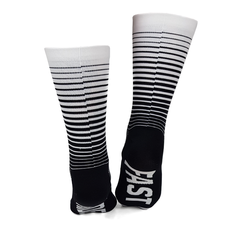 Image of Halftone Socks - Black