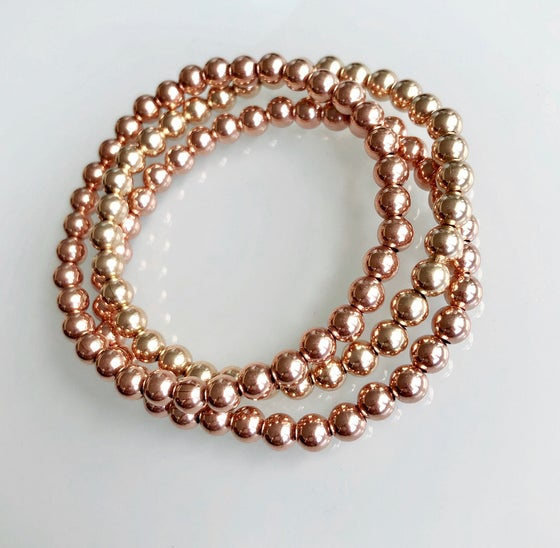 Image of Gold Beaded Bracelet