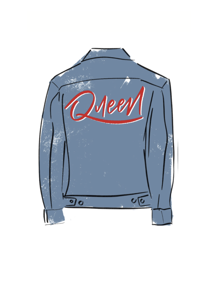Image of Boss Woman Queen Jean Jacket (SOLD OUT)