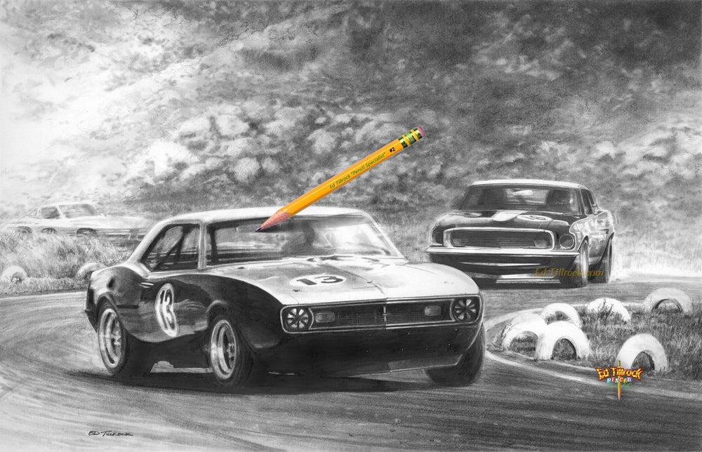 """Image of """"Fun At Riverside"""" 11x17 Print"""