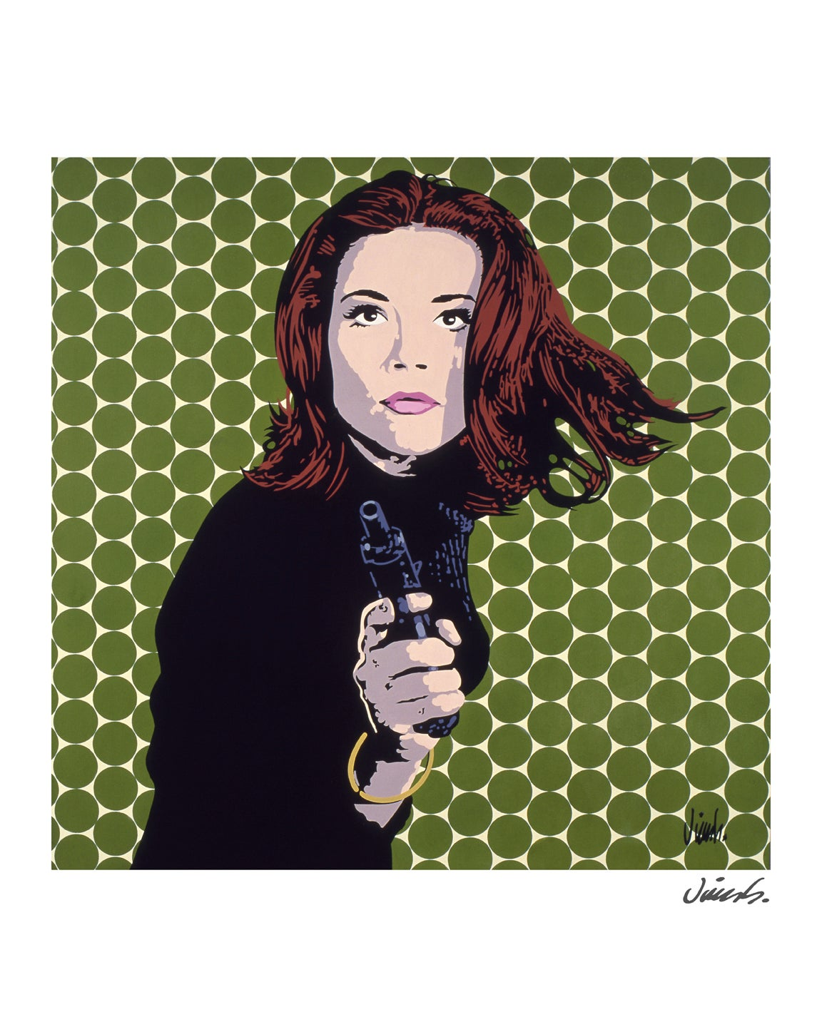 Image of DIANA RIGG poster print