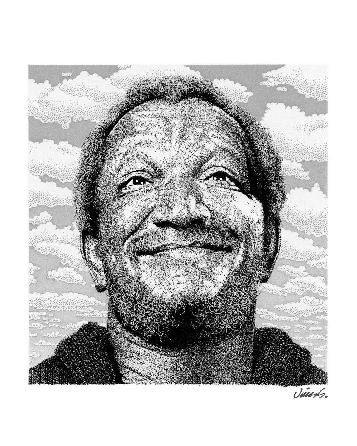 Image of REDD FOXX poster print