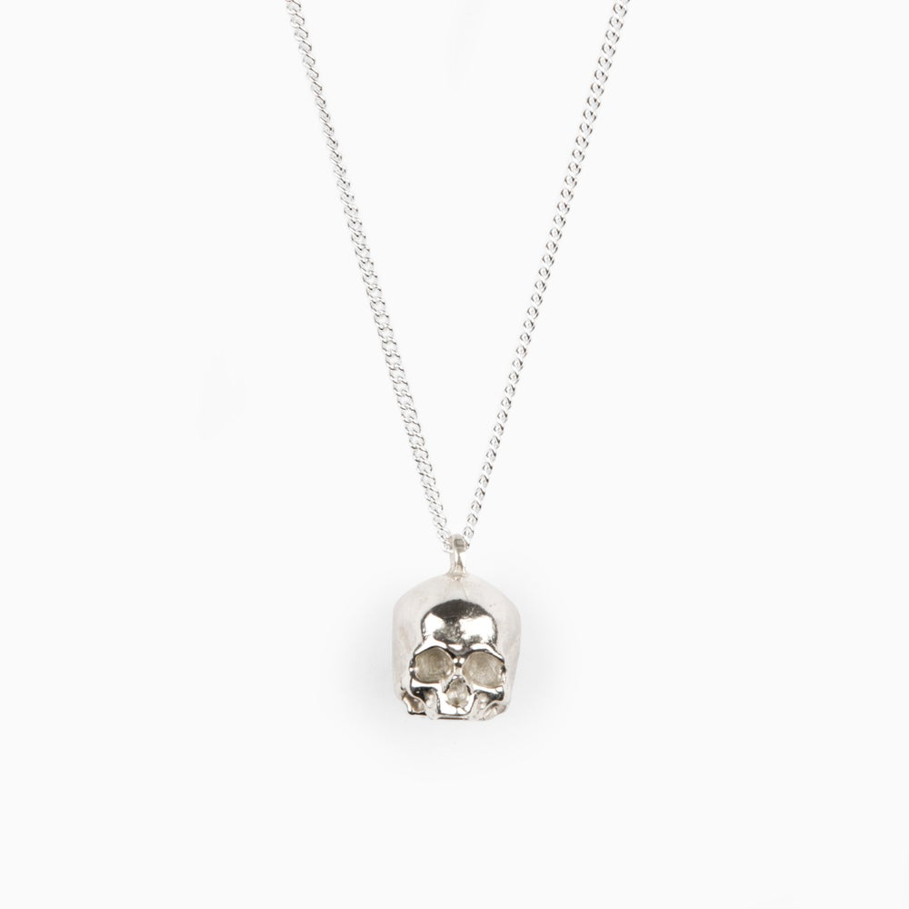 Image of JAWLESS SKULL – Sterling Silver