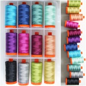 Image of Aurifil V and Co Ombre 12 count thread