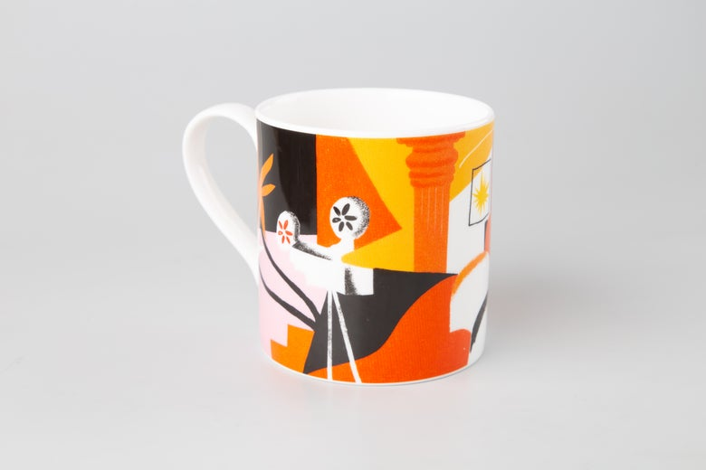 Image of Bone-China Mug | Lucy Sherston