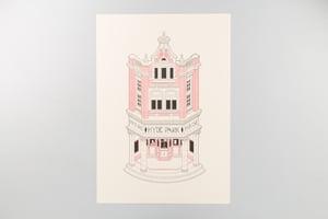Image of Riso Print | Adam Boardman - Isometric Facade