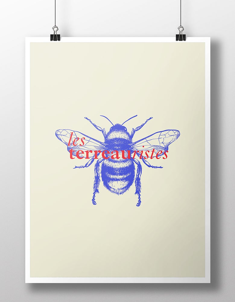 Image of AFFICHE BEE