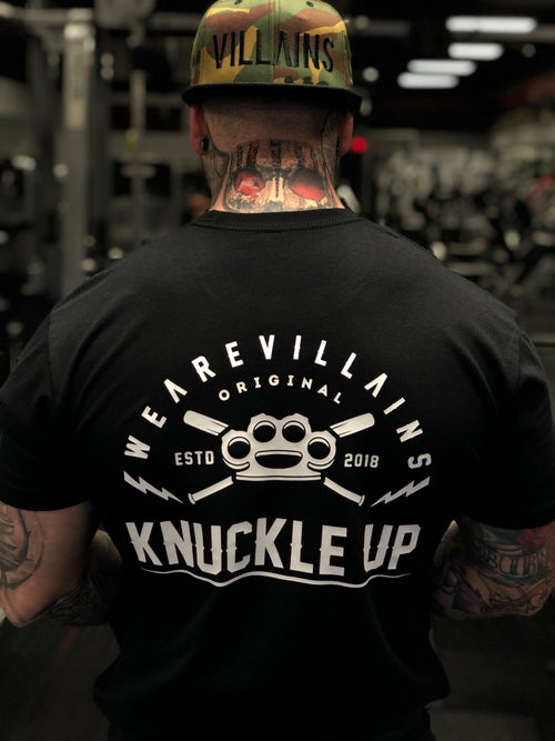 Image of KNUCKLE UP TEE