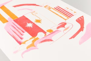 Image of Riso Print | Lucy Sherston