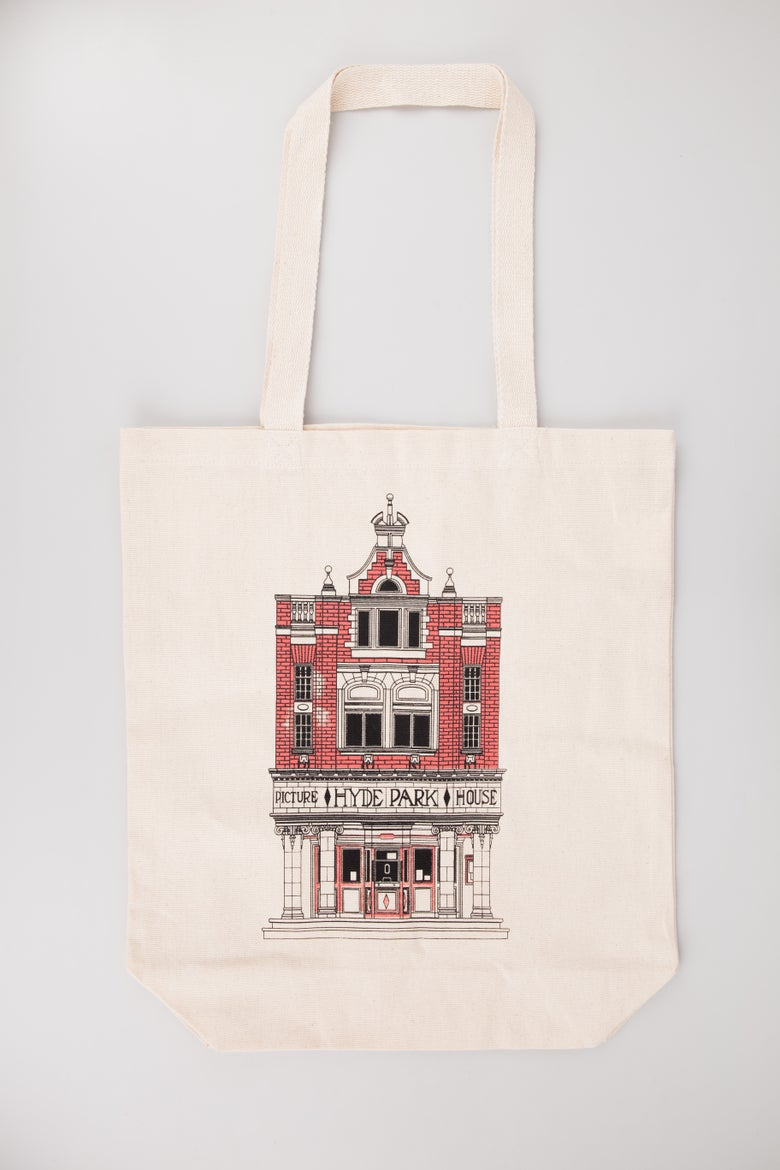 Image of Tote Bag | Adam Boardman - Portrait