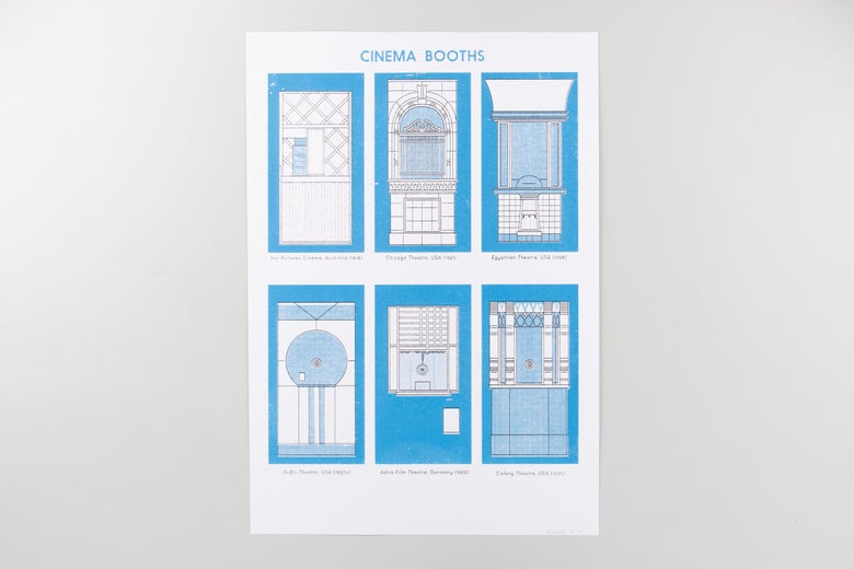 Image of Screenprint - ticket booths