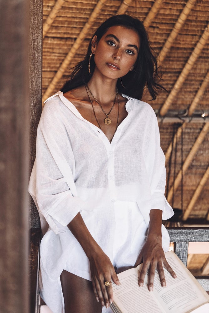 Image of TULUM TOP - WHITE