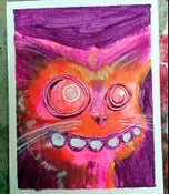 Image of Derp Kitty Painting
