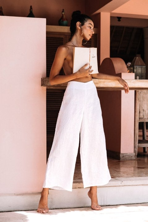 Image of MALI PANTS - WHITE