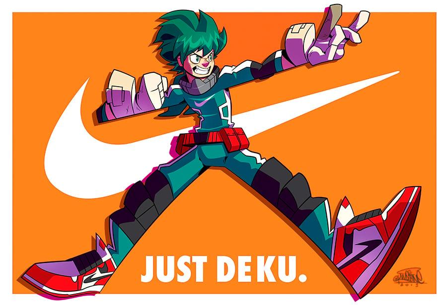 Image of Just Deku 13X19 by KWESTONE