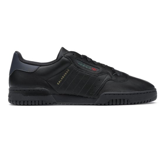 Image of Adidas Originals Yeezy Powerphase - Black - Size 8
