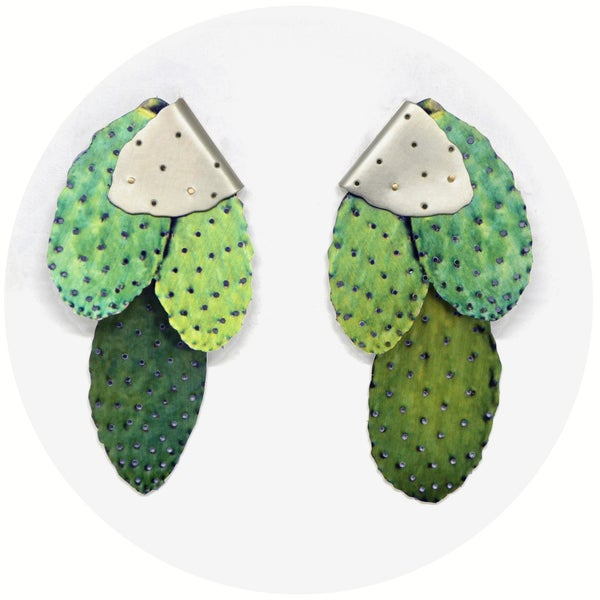 Image of A Prickly Pair | Green