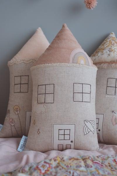 Image of PREORDER - 'Rainbow' house cushion