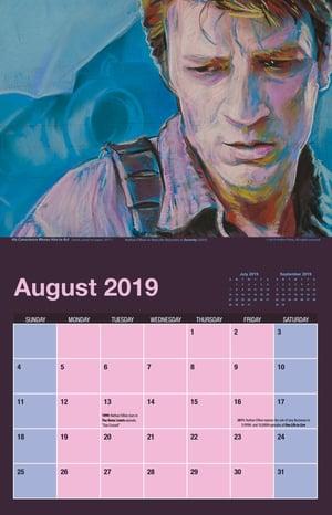 Image of #FillionDrawingOfTheDay 2019 Calendar