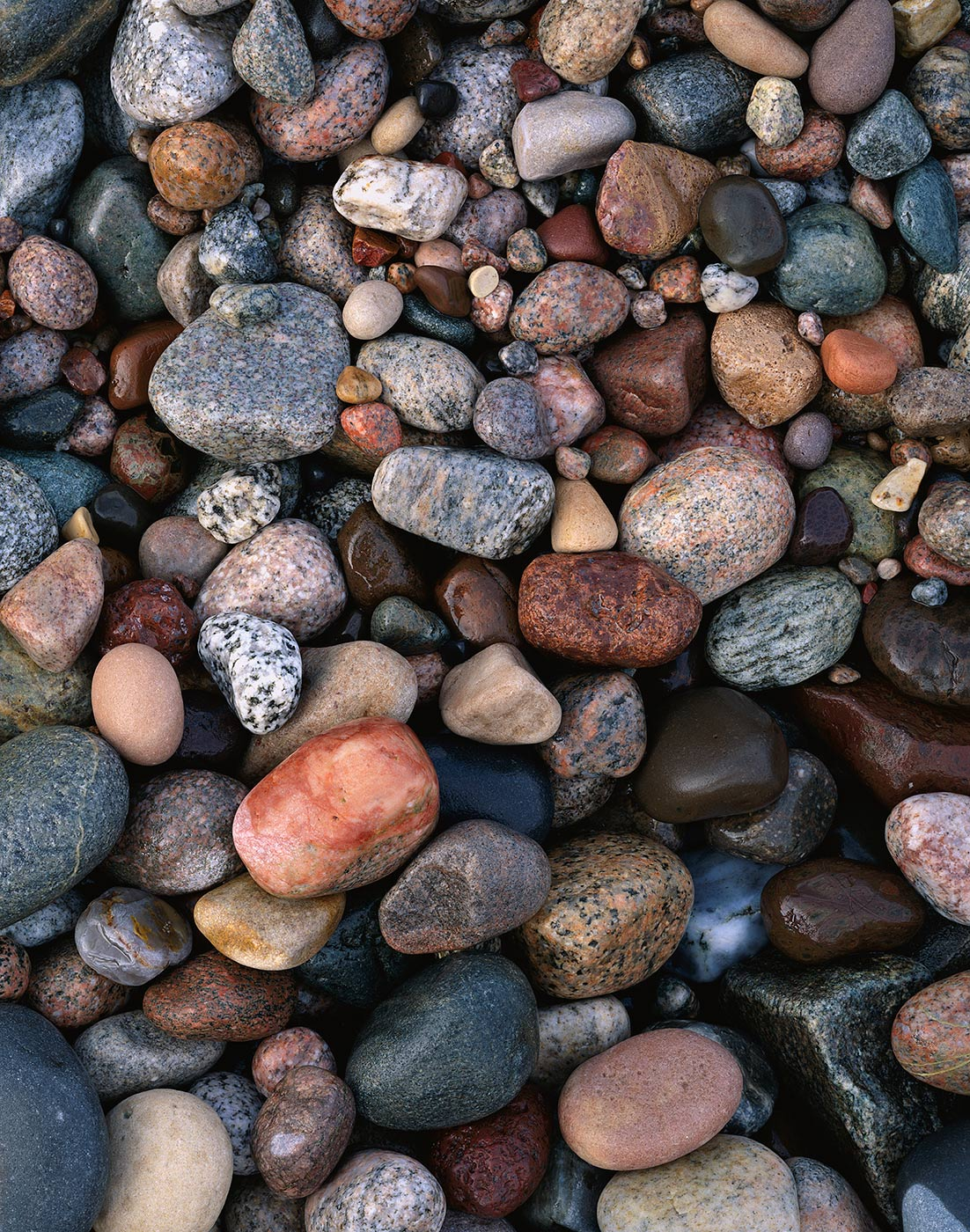 Image of Pebbles & Stones, Pictured Rocks National Lakeshore, Michigan