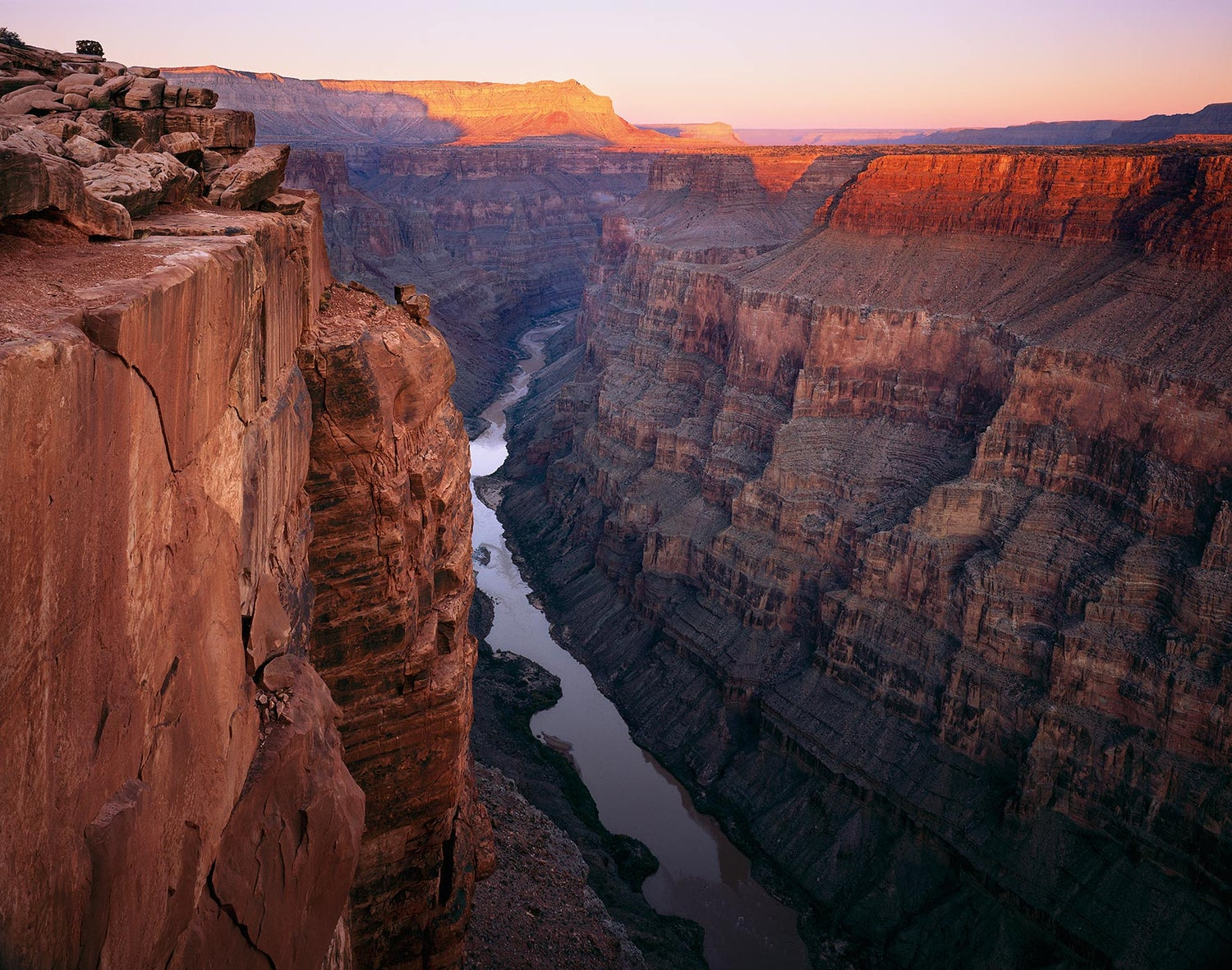 Image of Cliffs Above the Colorado, Grand Canyon National Park, Arizona