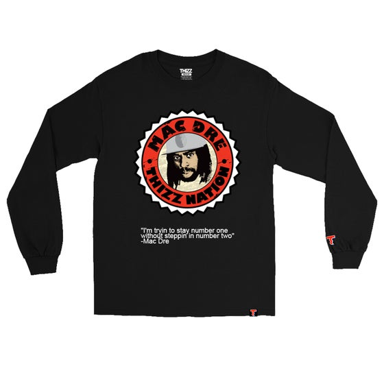Image of LIMITED MAC DRE LOGO - LONGSLEEVE