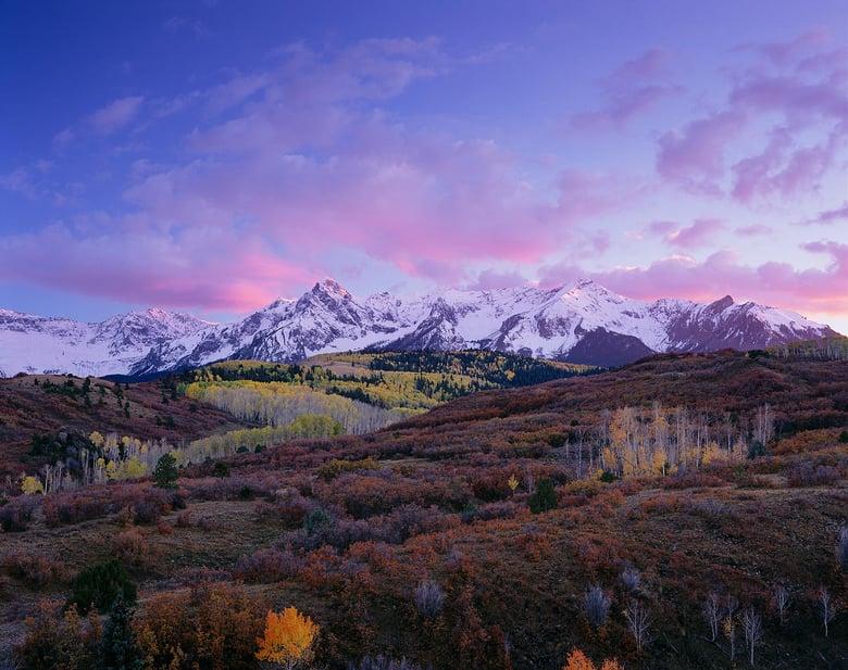 Image of Sneffels Range, Uncompahgre National Forest, Colorado