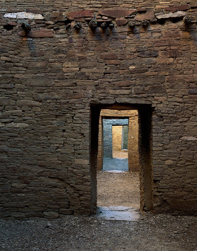 Image of Doorways Through the Ages, Chaco Canyon National Park, New Mexico