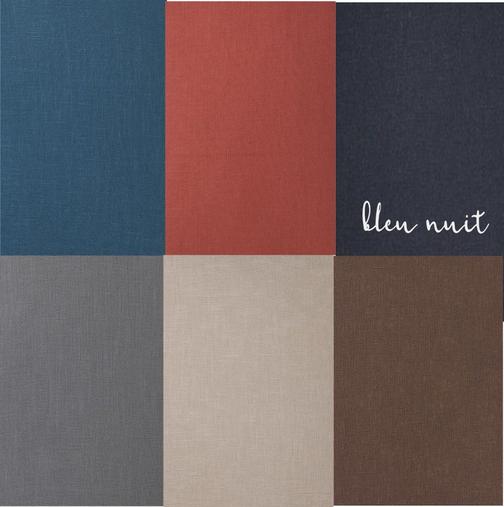 Image of color choice for ramie/linen cushion cover