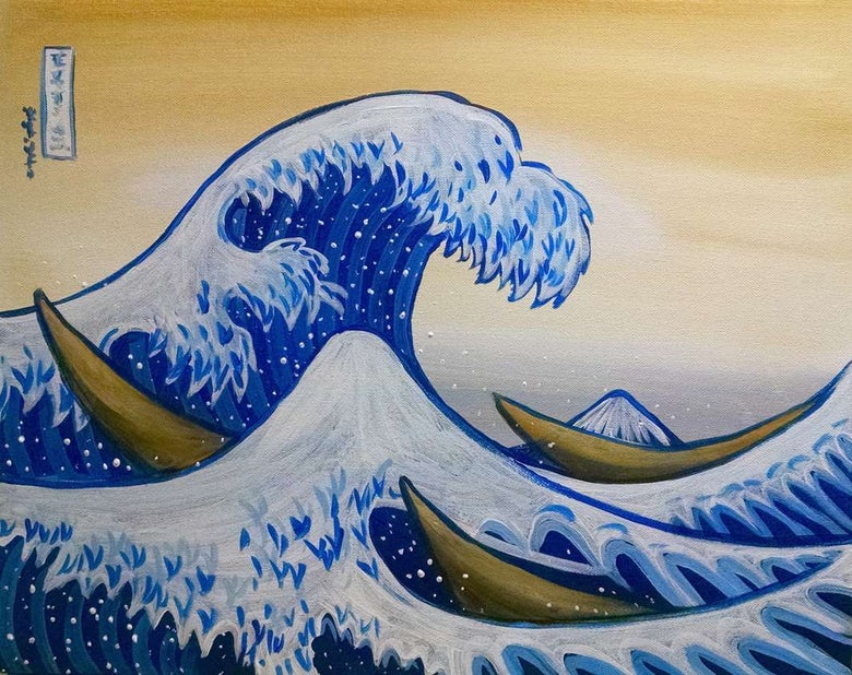 Image of Great Wave! Friday March 8th  7-9PM