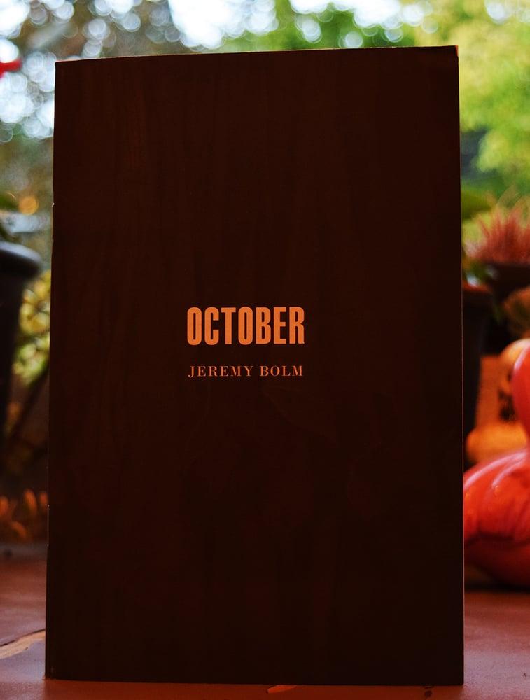 Image of Jeremy Bolm 'October'