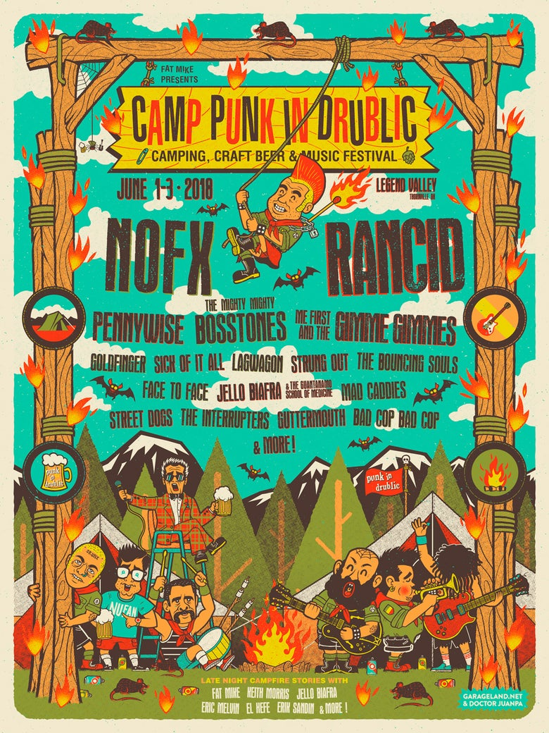 Image of Camp Punk in Drublic 2018 Poster (Regular)