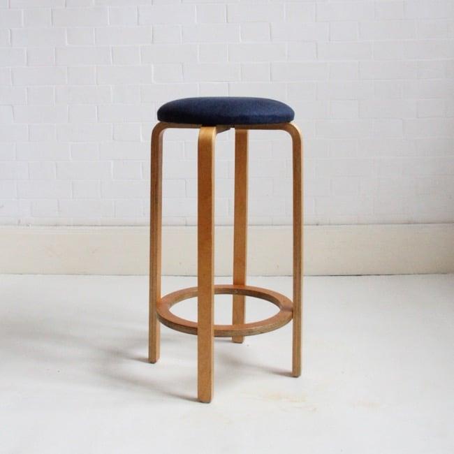 Image of Aalto style bar stool