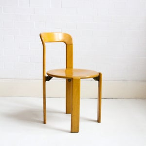 Image of BRUNO REY STACKING CHAIRS C1970