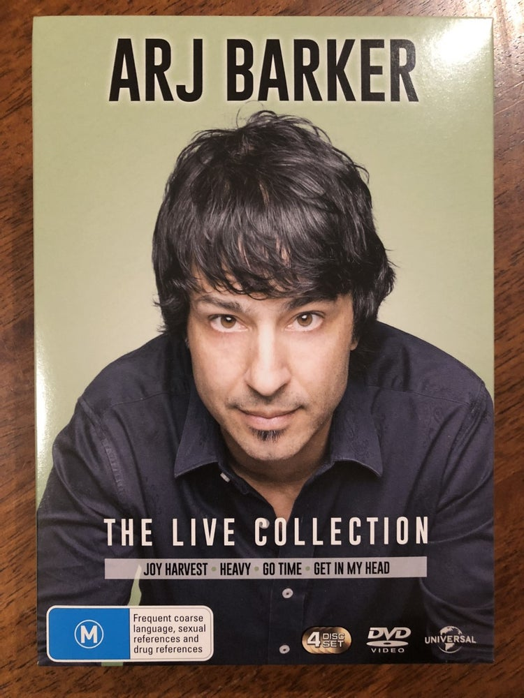 Image of The Live Collection BOX SET (NEW)