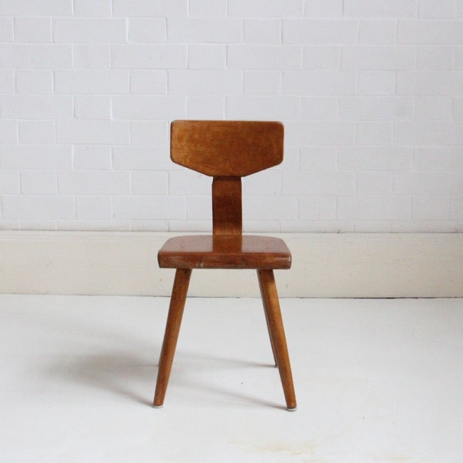 Image of Child's bentwood chair