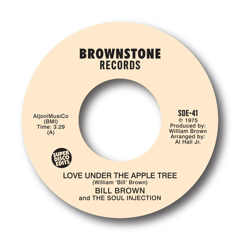 "Image of Bill Brown & The Soul Injection ""Love under the apple tree"" Brownstone"